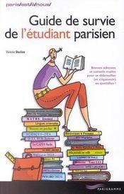 Guide De Survie De L'Etudiant Parisien - Intérieur - Format classique