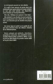 Parfum D'Ebene - 4ème de couverture - Format classique