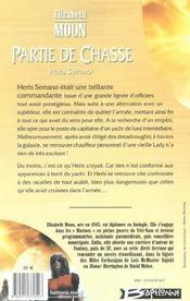 Heris Serrano t.1 ; partie de chasse - 4ème de couverture - Format classique