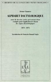 Alphabet dactylologique (1873-1875) - Couverture - Format classique