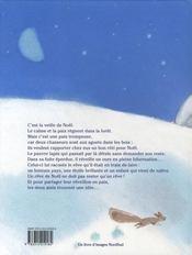 La trêve de Noël - 4ème de couverture - Format classique