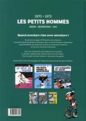 Les Petits Hommes ; INTEGRALE VOL.2 ; 1970-1973 - 4ème de couverture - Format classique