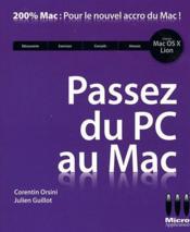 Passez du PC au Mac - Couverture - Format classique