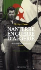 Nanterre en guerre d'Algérie ; chroniques du bidonville 1959-1962 - Couverture - Format classique