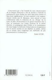 Le Petit Littre - 4ème de couverture - Format classique