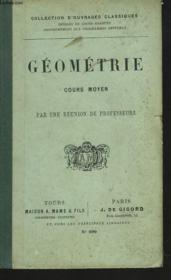 Geometrie. Cours Moyen - Couverture - Format classique
