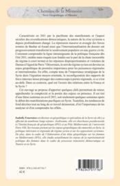 La Syrie et la France ; enjeux geopolitiques et diplomatiques - Couverture - Format classique