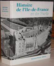 Histoire de l'Ile-de-France et de Paris. - Couverture - Format classique