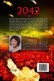 2042 ; le dernier jour - 4ème de couverture - Format classique