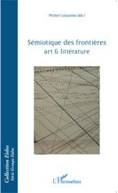 Sémiotique des frontières ; art et littérature - Couverture - Format classique