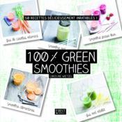 100 % green smoothies - Couverture - Format classique