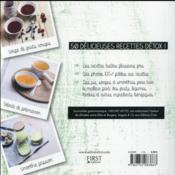 100 % green smoothies - 4ème de couverture - Format classique