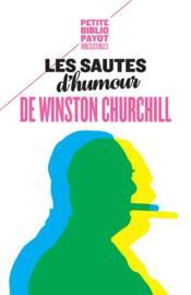 Les sautes d'humour de Winston Churchill - Couverture - Format classique