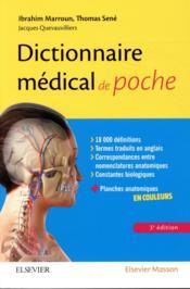 Dictionnaire médical de poche (3e édition) - Couverture - Format classique