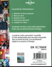 Allemand (9e édition) - 4ème de couverture - Format classique