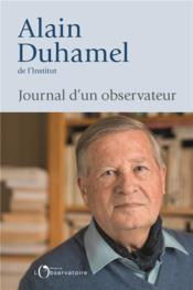 Journal d'un observateur - Couverture - Format classique
