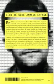 Mémoires vives - 4ème de couverture - Format classique