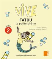 Vive Fatou la petite sirène - Couverture - Format classique