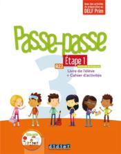 Passe - passe niv. 3 - etape 1 - livre + cahier + cd - Couverture - Format classique