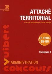 Attaché territorial - Intérieur - Format classique