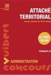 Attaché territorial - Couverture - Format classique