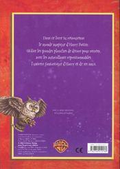 Harry Potter ; Les Mysteres De Poudlard ; Livre D'Autocollants - 4ème de couverture - Format classique