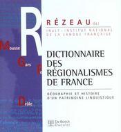 Dictionnaire des regionalismes de france - Intérieur - Format classique