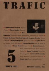 Revue Trafic N.5 - Couverture - Format classique