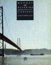 Lisbonne culturelle - Couverture - Format classique
