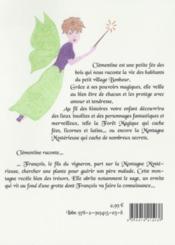 La petite fée Clémentine t.4 ; le secret de la montagne mystèrieuse - 4ème de couverture - Format classique
