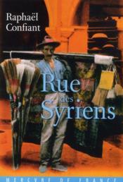 Rue des Syriens - Couverture - Format classique