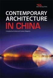 Contemporary architecture in china - Couverture - Format classique