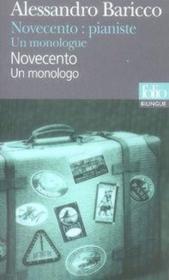 Novecento : pianiste. un monologue - Couverture - Format classique