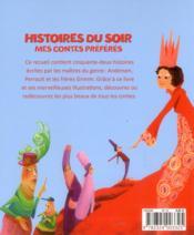 Mes contes préférés - 4ème de couverture - Format classique