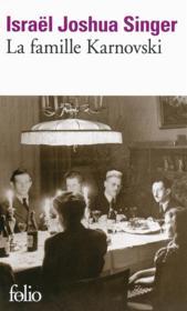 La famille Karnovski - Couverture - Format classique