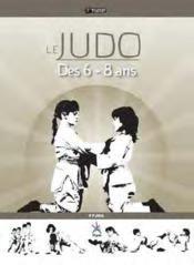Le judo des 6-8 ans - Couverture - Format classique