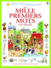 Les mille premiers mots en arabe - Couverture - Format classique
