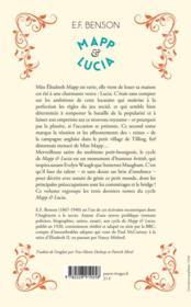 Mapp & Lucia t.2 - 4ème de couverture - Format classique
