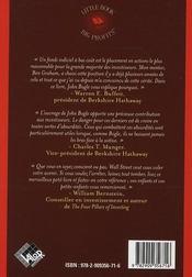 Le petit livre pour investir avec bon sens - 4ème de couverture - Format classique