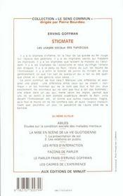 Stigmate - 4ème de couverture - Format classique
