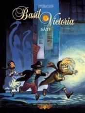 Basil & Victoria t.1 ; Sâti - Couverture - Format classique
