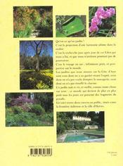 La côte d'Azur des jardins - 4ème de couverture - Format classique