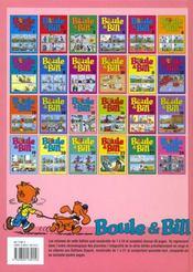 Boule & Bill T.15 - 4ème de couverture - Format classique