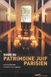Guide patrimoine juif parisien - Couverture - Format classique