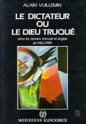 Dictateur Ou Le Dieu Truque... - Couverture - Format classique