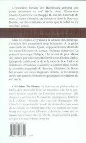 Le destin tragique des Habsbourg au XVI siècle - 4ème de couverture - Format classique