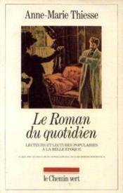 Le Roman Au Quotidien - Couverture - Format classique