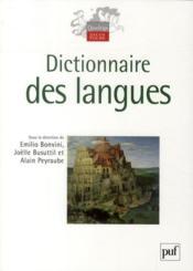 Dictionnaire des langues - Couverture - Format classique