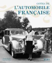 Gotha de l'automobile française - Couverture - Format classique