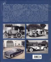 Gotha de l'automobile française - 4ème de couverture - Format classique